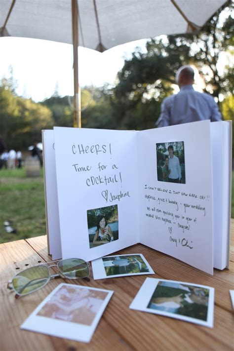 polaroid picture wedding guest book polaroid guest book tying the knot