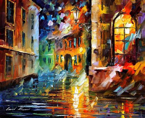 new painting free leonid afremov on canvas palette knife buy original