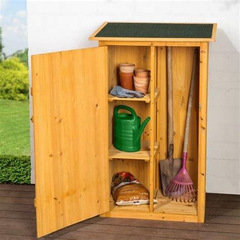 armadietti in legno armadietto in legno da esterno porta attrezzi per giardino