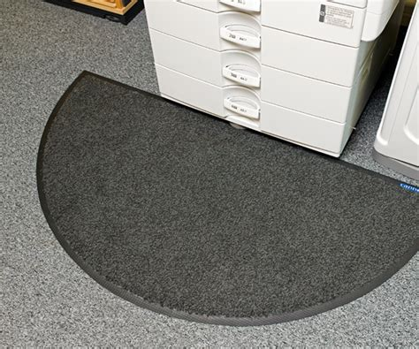 semi circle office mats cannon mats and floorcare range