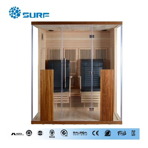 steam infrared function chair wooden home sauna
