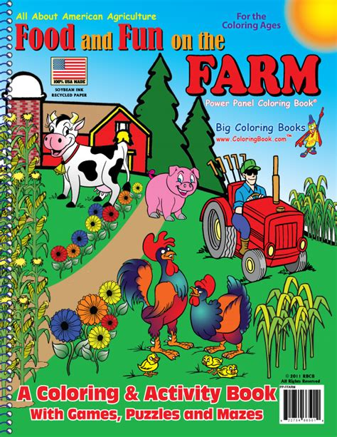 on the farm volume 5 books wholesale coloring books food and on the farm