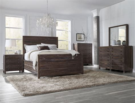 modus bedroom furniture 4 piece modus townsend solid wood bedroom set