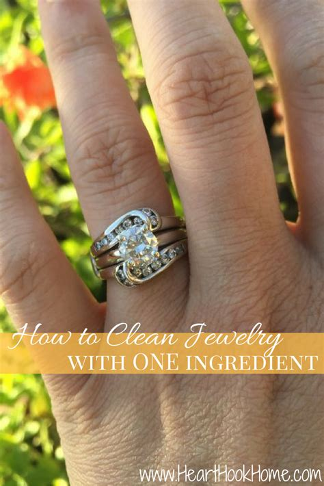jewelry at home how to clean jewelry at home with one ingredient