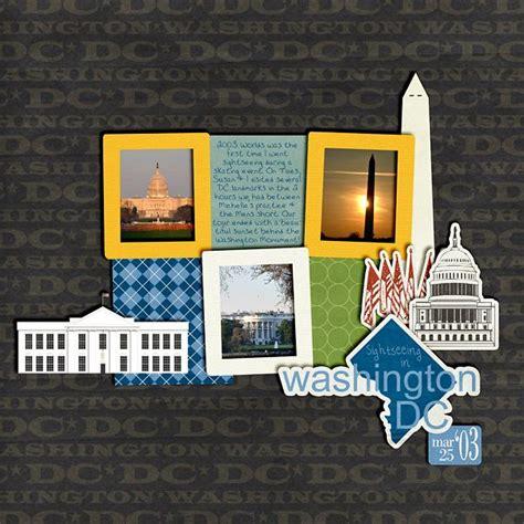 scrapbook layout washington dc 17 best images about washington dc scrapbook ideas on