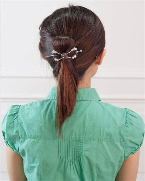Fancy Ponytail Hairstyles by 20 Stylish And Appropriate Hairstyles For Work