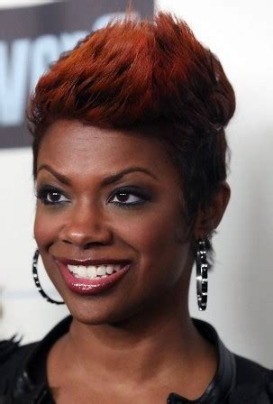african american hairstyles kandi burruss updo 5 must try red short haircuts african american cruckers