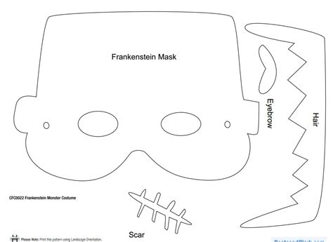 frankenstein template how to make a frankenstein costume