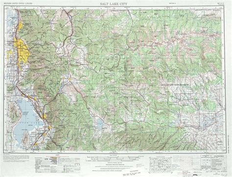 topographical map of utah salt lake city topographic maps ut usgs topo