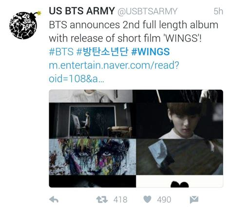 bts theory twitter s response to bts wings short pt 3 4 k pop amino