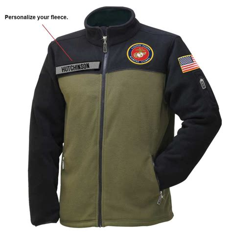 Gemstone Home Decor by The U S Marine Corps Fleece Jacket The Danbury Mint