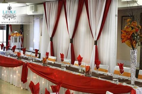 78  images about Red Orange and Brown Fall Wedding Decor