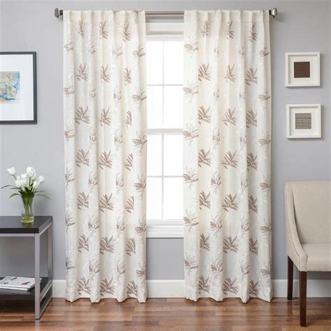 tropical curtain panels tropic linen style curtains bestwindowtreatments com