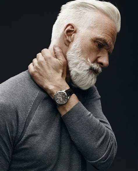 grey haired actor with mustache 25 best ideas about grey beards on pinterest thick