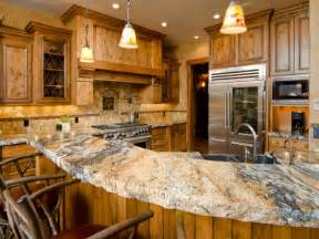 Kitchen Granite Countertop Five Inc Countertops The Top 4 Durable Kitchen Countertops Materials