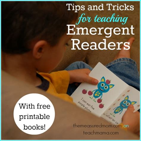 tips and tricks using free printables in home decor tips and tricks for teaching emergent readers with free