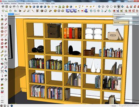 sketchup librerie sketchup libreria hogar y ideas de dise 241 o feirt