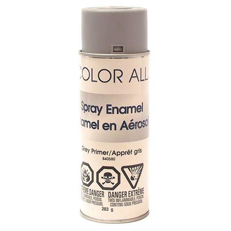 enamel spray paint grey rona