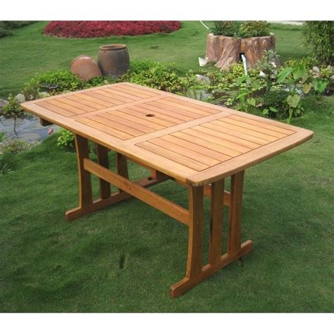 Rectangular Patio Table Rectangular Outdoor Patio Dining Table Tt Re 007