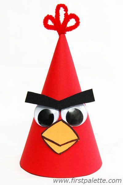 angry bird birthday hat hat crafts bird crafts crazy