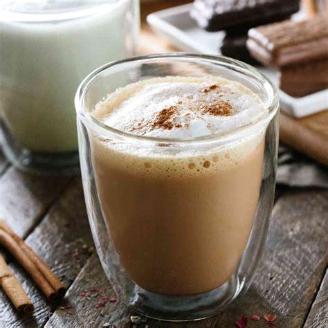 blissful five minute tea latte recipe jessica gavin