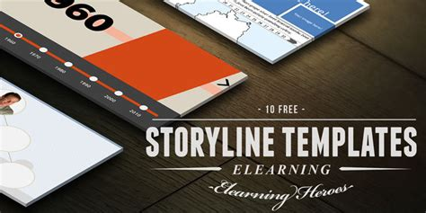 10 Fresh And Free E Learning Templates For Articulate Storyline E Learning Heroes Elearning Templates Storyline