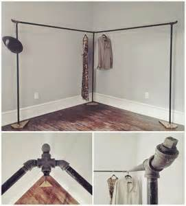 How To Build A Clothes Rack by Awash With That Time We Built A Clothes Rack Diy