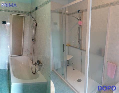 cambiare vasca in doccia progetto cambio vasca in doccia idee ristrutturazione bagni