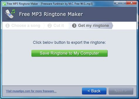 free download mp3 cutter app for pc make custom ringtones with musetips free mp3 ringtone