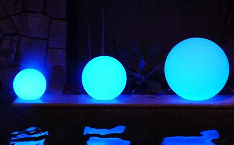goglow party hire led glow balls illuminated furniture