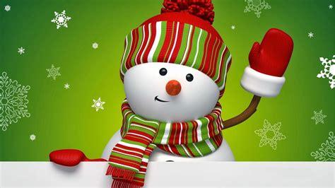 merry christmas snowman   widescreen backgrounds    super hd
