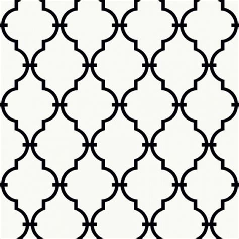 black and white moroccan wallpaper black trellis lattice on sure strip white wallpaper