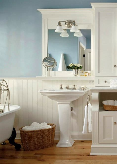 Wainscoting Ideas Bathroom Bathrooms With Wainscoting Rumah Minimalis