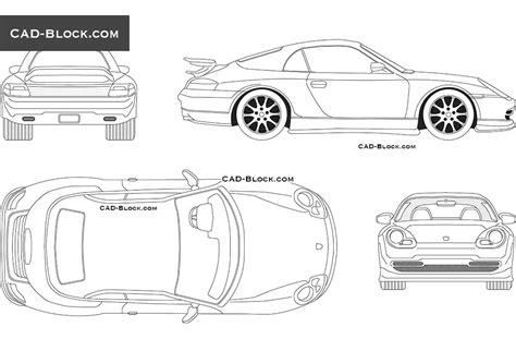 car templates for autocad autocad car design