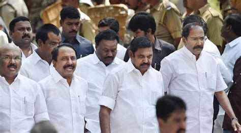 Cabinet Ministers In Tamilnadu by Tamil Nadu New Cabinet Here Is Edappadi Palanisami S