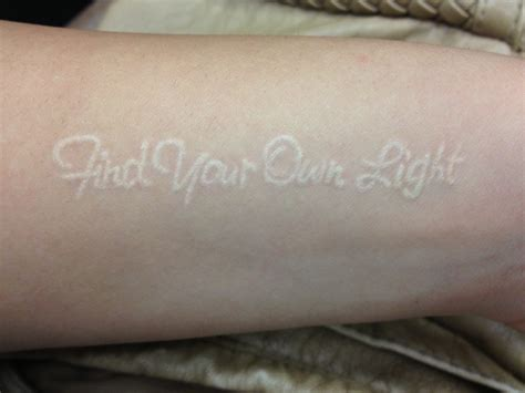 where to buy tattoo ink white ink find your own light on arm white ink
