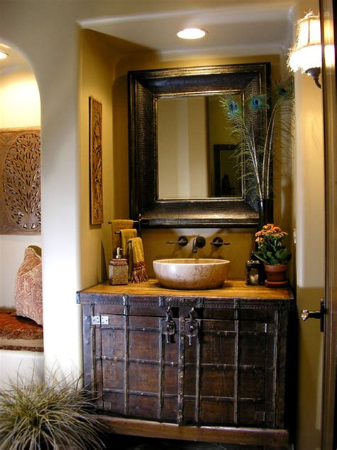 transitional comfort traditional powder room phoenix