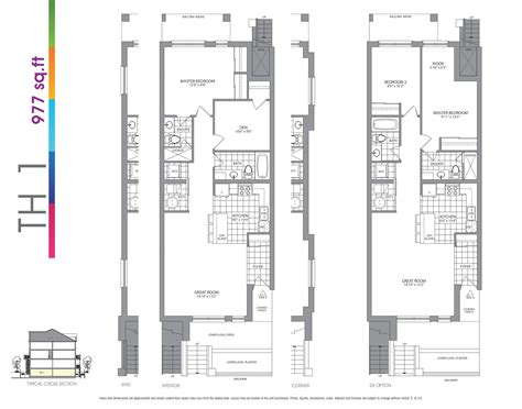 stacked townhouse floor plans 100 stacked townhouse floor plans charming