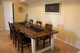 building a farmhouse building a dining table plans 187 woodworktips