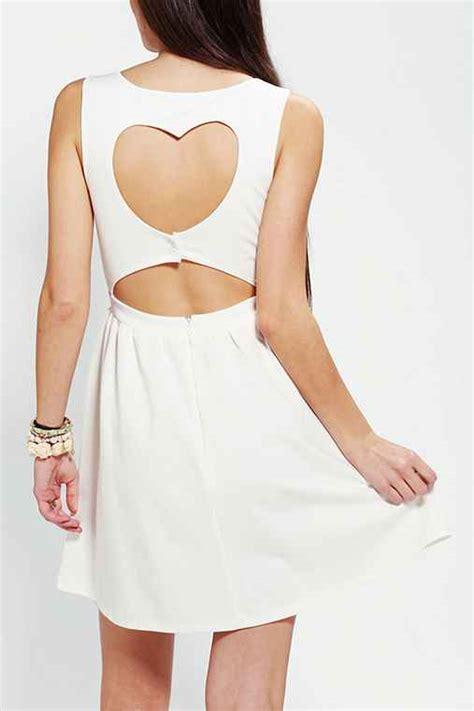 dress pattern heart back heart cutout back dress urban outfitters