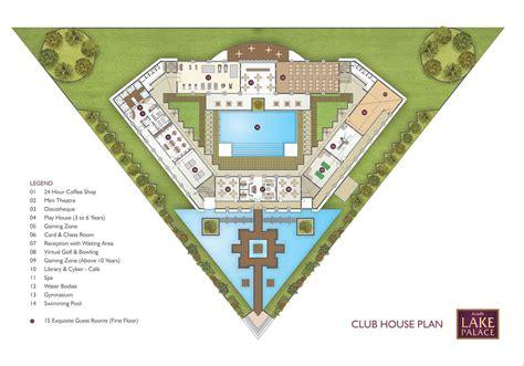 club house plan avadh lake palace avadh group