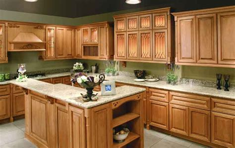 Colors For Kitchens With Light Cabinets Kitchen Colors With Light Wood Cabinets