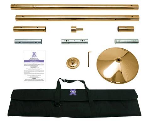 Sho X Pert brass x pole xpert pole kit the pole fitness