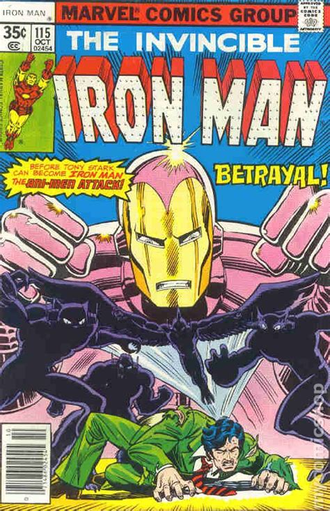 iron in my books iron comic books issue 115 1978