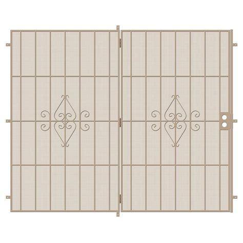Security Patio Doors Home Depot by Unique Home Designs 96 In X 80 In Su Casa Projection