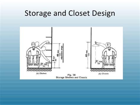 Ada Closet Design Ada Power Point By Gorman Ncidq