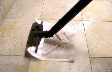 Cleaning Porous Floor Tiles by Steam Cleaning Grout And Tiles Quickly And Easily With Dupray
