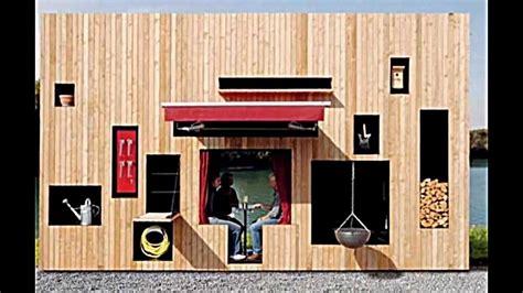 wandlen selber bauen ein modernes holz gartenhaus f 252 r gartenger 228 te und sitzecke