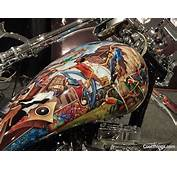 Cool Airbrush Jobs From Motorcycle Show NYC 2011