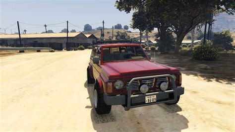 nissan safari 1992 nissan safari replace gta5 mods com